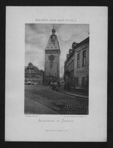 Altpörtel Stadttor Speyer Foto photo Photographie Phototypie Bernhoeft