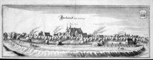 Bardowick Lüneburg Niedersachsen Kupfer Merian