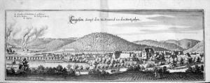 Langelsheim Harz Goslar Kupferstich Merian