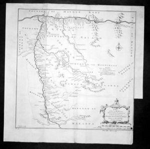 Senegal Africa Afrika Map