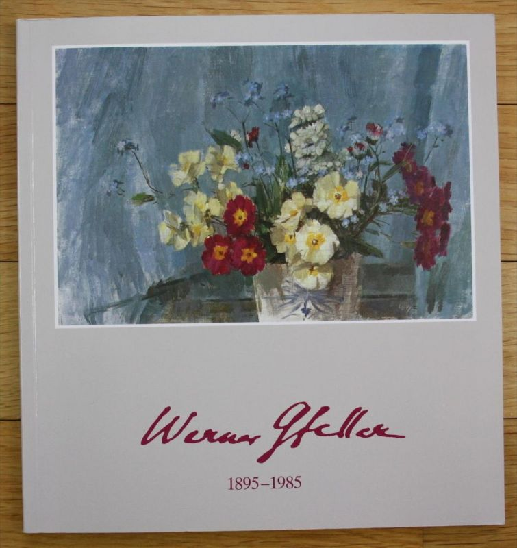Werner Gfeller 1895 - 1985 Ausstellung Katalog