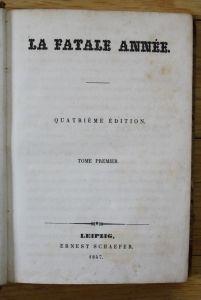 - Keratry - Frederic Styndall La Fatele Annee - Leipzig Schaefer