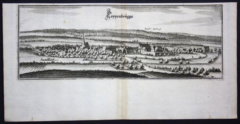 Coppenbrügge / LK Hameln - Kupferstich Merian