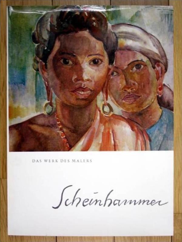 Der Maler Otto Scheinhammer Arnold Mardersteig. - signiert