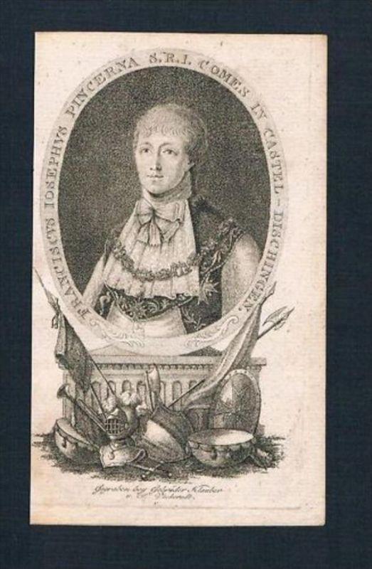 Franz Joseph Schenk v. Castell Dischingen Portrait