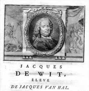 Jacob de Wit painter Maler Portrait Kupferstich gravure engraving