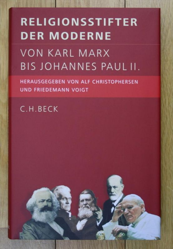 Christophersen Religionsstifter der Moderne Karl Marx bis Johannes Paul II.