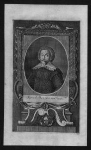 Sigmund Adam von Traun gravure engraving Kupferstich Portrait