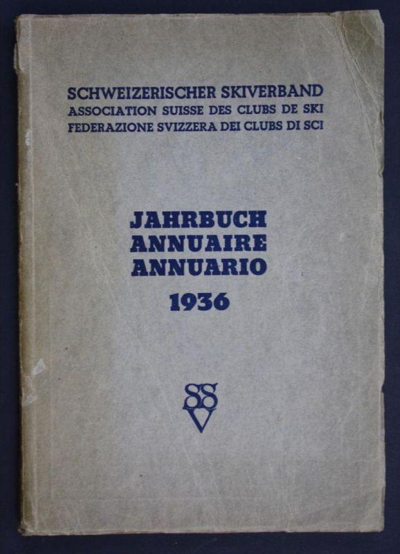 Jahrbuch Schweiz  Skiverband Skifahren