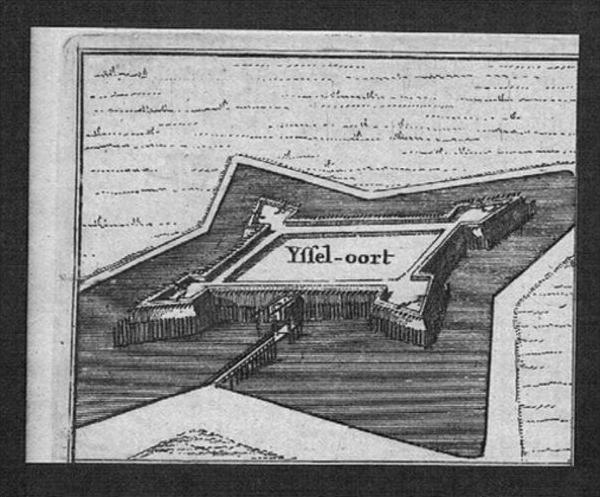 Ijsseljoord Arnhem Holland Nederland Kupferstich engraving gravure