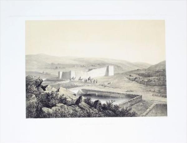 Israel Palestine Reservoirs de Salomon