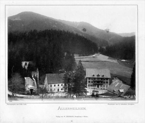 Kloster Allerheiligen Oppenau Photographie