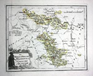 Staßfurt Halle Hadmersleben - Reilly Karte map