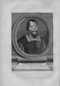 Andre de Brancas Amiral de Villars Frankreich Admiral Kuperstich Portrait