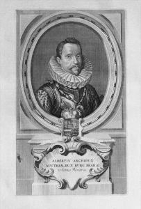 Albrecht VII. von Österreich Holland Portrait Kupferstich engraving