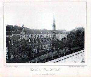 Kloster Maulbronn Enzkreis Photographie