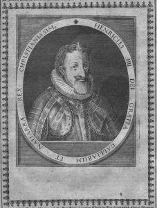 Heinrich IV König Frankreich Roi Portrait Kupferstich engraving