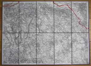 Neszmely Zsambek Tarjan Dorog Bajna Szomod Ungarn Hungary Karte map