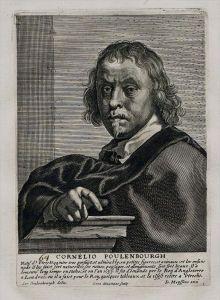 Cornelis van Poelenburgh painter Maler Portrait Kupferstich engraving
