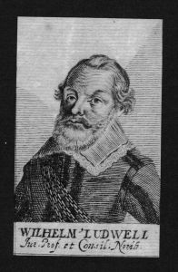 Wilhelm Ludwell Jurist lawyer Professor Nürnberg Kupferstich Portrait