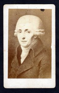 Joseph Haydn Komponist Portrait original Foto photo CDV