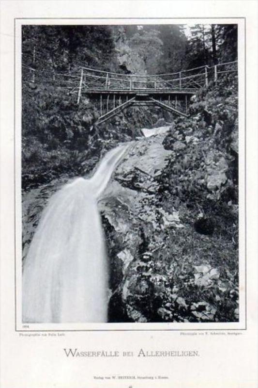 Allerheiligen-Wasserfälle Oppenau Photographie
