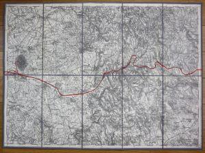Devecser Varoslöd Ajka Halimba Noszlop Kolontar Hungary Ungarn Karte map