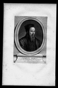 Clement Marot Dichter Lyriker Frankreich France Kupferstich Portrait