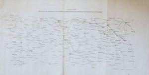 Sachsen Böhmen Feldzug 1758 Militär-Karte