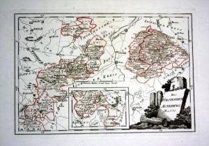 Altenburg Saalfeld Orlamünde Gera - Reilly Karte map