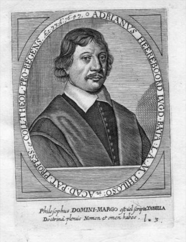 Adrianus Heereboord Nederland Holland Portrait