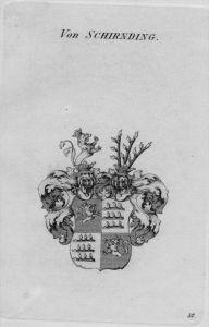 Schirnding Wappen Adel coat of arms heraldry Heraldik crest Kupferstich