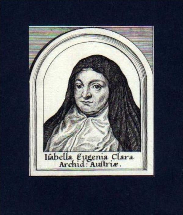 Isabella Clara Eugenia Spanien Portugal Portrait