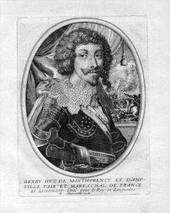 Henry II de Montmorency Portrait Kupferstich engraving