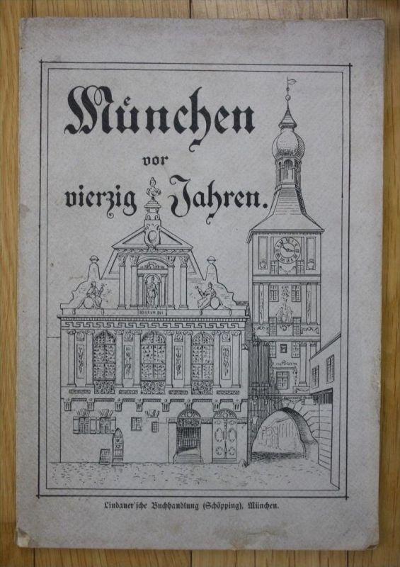 Eduard Uhland München vor 40 Jahren Stadtverwaltung Geschichte Chronik