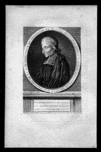 Jean de La Noe Mesnard Nantes Frankreich France Kupferstich Portrait