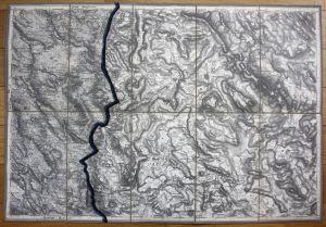 Bileca Tupan Orah Busak Serbia Montenegro Karte map