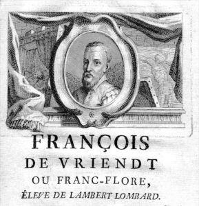 Frans Floris painter Maler Portrait Kupferstich gravure engraving