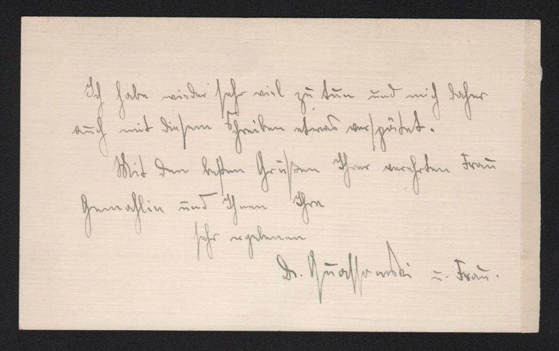- Hans Wolfgang Quassowski - letter Brief Autograph signiert signed