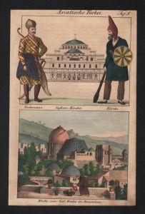- Jerusalem Hagia Sophia Turkey Israel natives costumes Lithograph