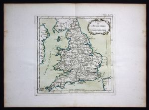 England Great Britain Bellin Karte map carte Kupferstich engraving