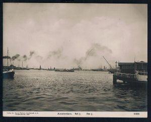 Amsterdam IJsselmeer Hafen haven Original Foto photo vintage