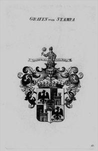 Stampa Wappen Adel coat of arms heraldry Heraldik crest Kupferstich