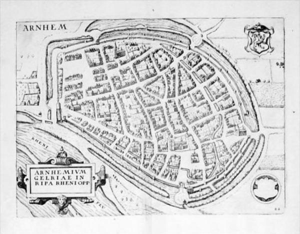 Arnhem Holland Nederland engraving Kupferstich