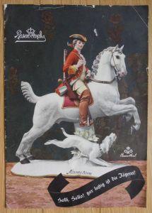Rosenthal Porzellan Prospekt Preisliste Katalog Jagd Jägerei