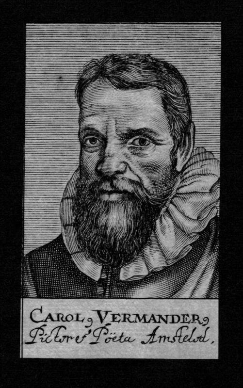 Carolus Vermander Dichter poet Amsterdam Nederland Kupferstich Portrait