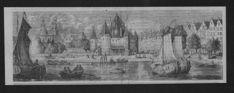 Amsterdam Holland Niederlande Netherlands Holzstich wood engraving