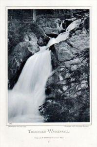Triberg Schwarzwald Wasserfall Photographie