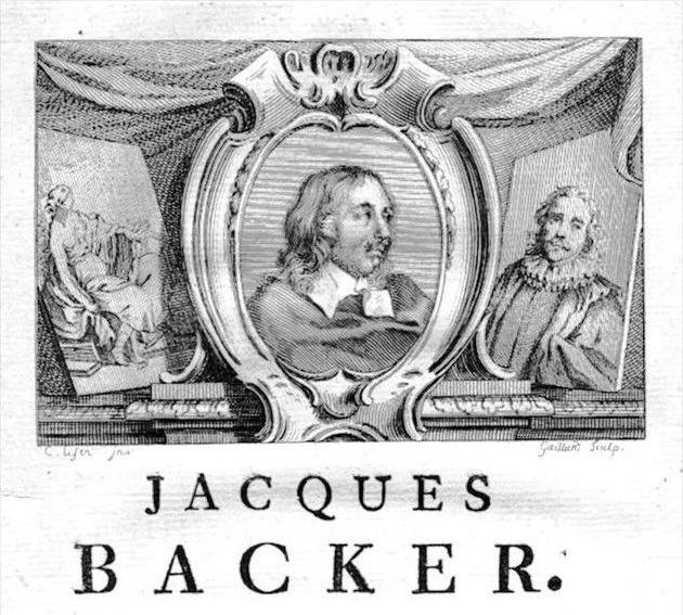 Jacob Adriaensz Backer painter Portrait Kupferstich gravure engraving