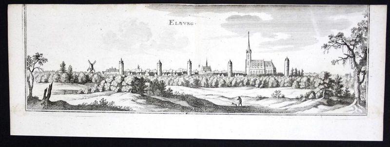 Limbourg BZ Ververs Belgien gravure Kupferstich Merian engraving